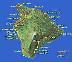 map of big island
