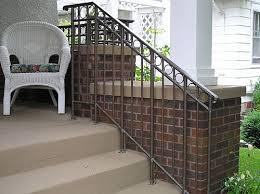 iron porch railing