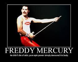 freddy mercury poster