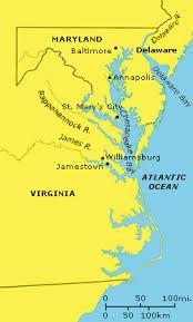 chesapeake bay colonies