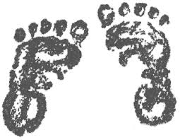 baby foot stamp
