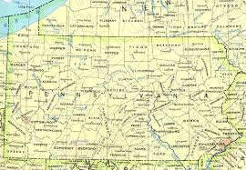 maps of pennsylvania