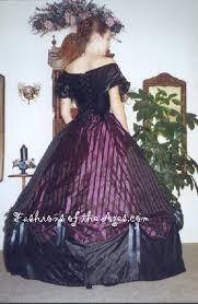 civil war era ball gowns