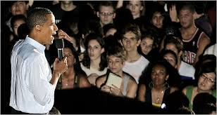 obama youth pictures