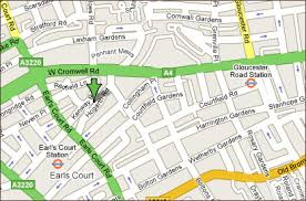 earls court directions