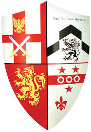 middle ages shields