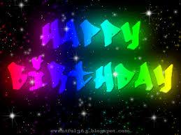 birthday glitter graphic