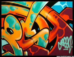 graffiti bubble font