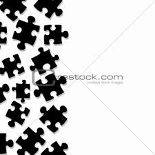 puzzle pieces border