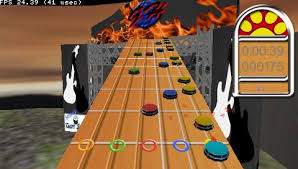 guitar hero para psp