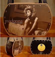 record album purse