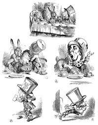 characters alice in wonderland