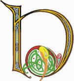 celtic letter d