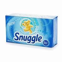 snuggle dryer sheet