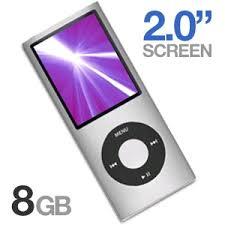 ipod nano silver 8 gb