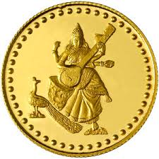 gold indian coins