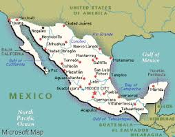 acuna mexico map