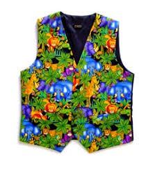 colourful waistcoats