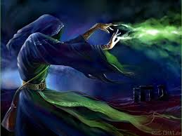 black magic art