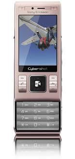 sony ericsson cyber shot pink