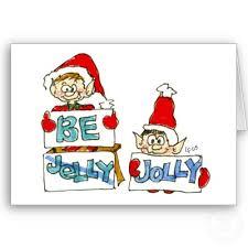 cartoon christmas elf