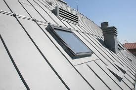 aluminium standing seam roof