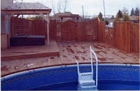 deck pour piscine