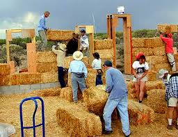 straw bales house