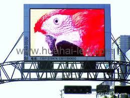 led advertising board