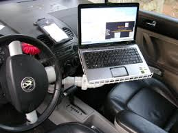 notebook car