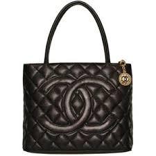 chanel black handbags