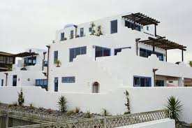concrete housing