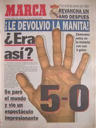 Real Madrid 5-0 FC Barcelona, Temporada 1994/1995, partido completo 50marca01