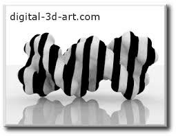 art black white