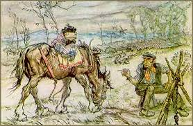 arthur rackham wind in the willows