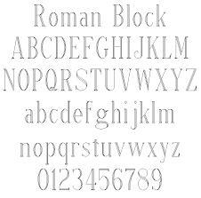 roman block