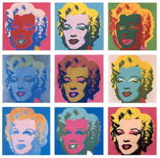 andy warhol marilyn monroe prints