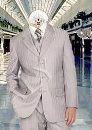 mens silver suit