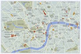 mapa metra londynu