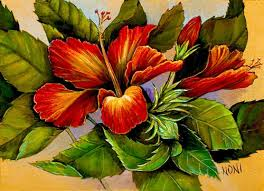 hawaiian art print