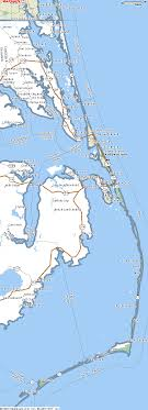map of the outer banks