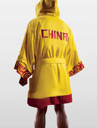 chinese bathrobe
