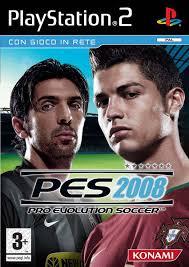 pro evolution 2008 ps2