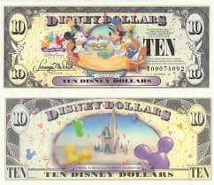 disney dollars 2009