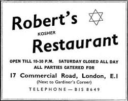 restaurant advert
