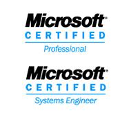microsoft certification logos