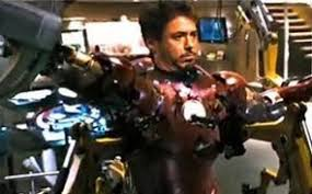 captain americas shield in iron man
