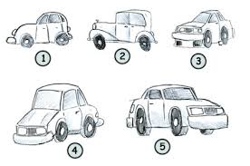how to draw a nice car