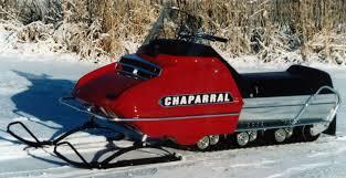 chaparral snowmobile