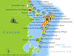cancun area map